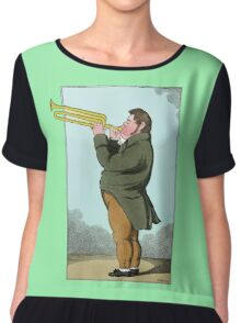 The Paradoxical Trumpeter Chiffon Top