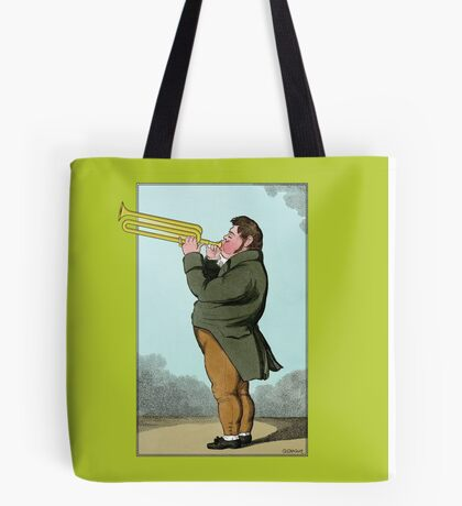The Paradoxical Trumpeter Tote Bag