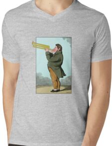 The Paradoxical Trumpeter Mens V-Neck T-Shirt