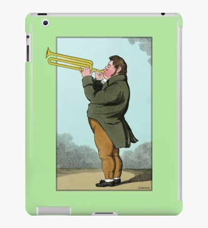 The Paradoxical Trumpeter iPad Case/Skin