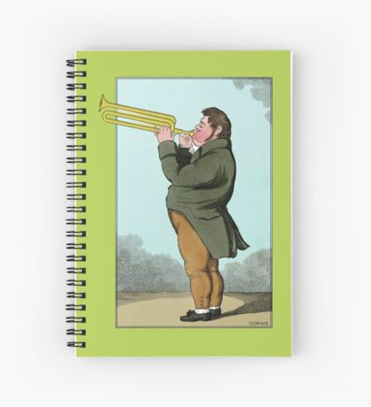 The Paradoxical Trumpeter Spiral Notebook