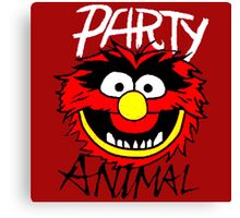 Party Animal Monster Canvas Print
