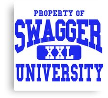 Swagger University Canvas Print