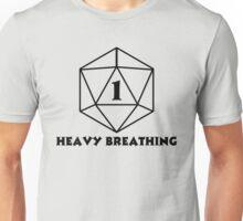 D20 1 One Heavy Breathing Unisex T-Shirt