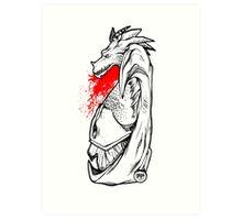 DragonBlood Art Print