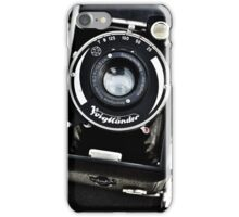 Old vintage german camera iPhone Case/Skin