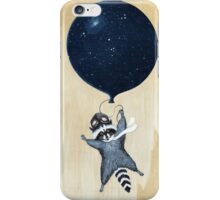 Raccoon iPhone Case/Skin