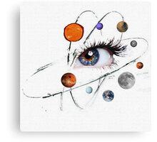Eye on the Universe Canvas Print