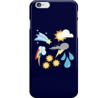 My little Pony - Weather Team Cutie Mark Special iPhone Case/Skin