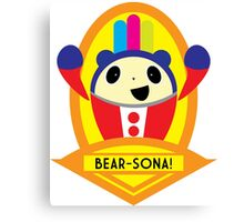 Bear-sona! Canvas Print