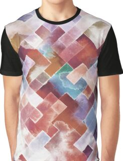 Snowy mountains watercolor Graphic T-Shirt