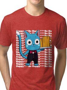 Happy, Be Happy  Tri-blend T-Shirt