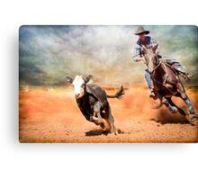 Ride Em Cowboy Canvas Print