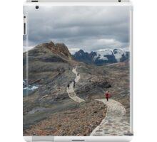 Cordillera Blanca Mountain range Peru. Huascaran National Park.  iPad Case/Skin