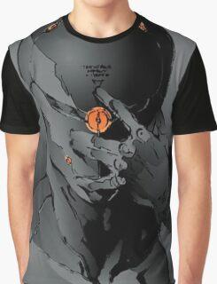 Gray Fox Graphic T-Shirt