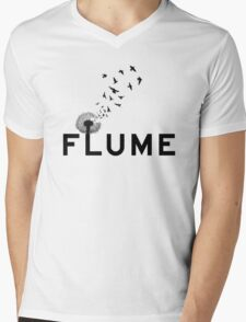 Flume & pollen  Mens V-Neck T-Shirt