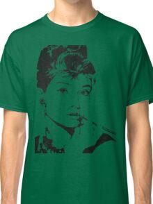 Black and White Audrey Hepburn Classic T-Shirt