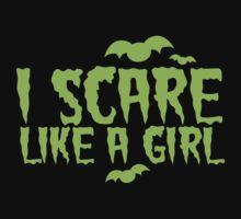 I SCARE LIKE A GIRL One Piece - Long Sleeve