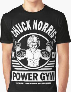 Chuck Norris Power Gym Graphic T-Shirt