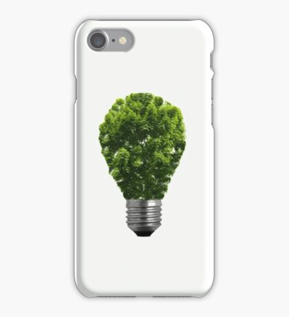 Green Lightbulb iPhone Case/Skin