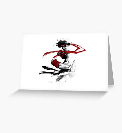fighter Greeting Card