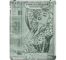 Comic strip iPad Case/Skin