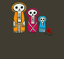 Three Skelly Matryoshkas & Mouse Unisex T-Shirt