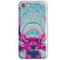 Smoking Deer iPhone Case/Skin