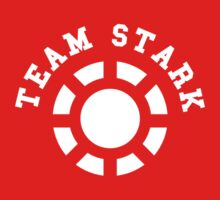 Team Stark - old reactor Kids Tee