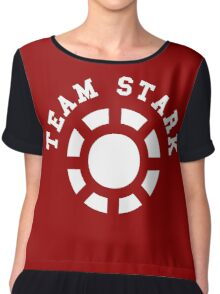 Team Stark - old reactor Chiffon Top