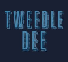 Tweedle DEE (with matching Tweedle DUMB) Kids Tee