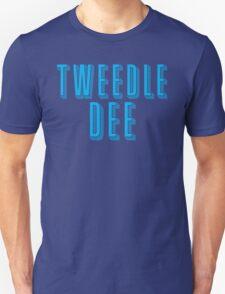 Tweedle DEE (with matching Tweedle DUMB) Unisex T-Shirt