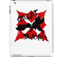 MHG Great Sword (CROSS SERIES) // Black iPad Case/Skin