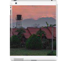 Sunset Over Pai iPad Case/Skin