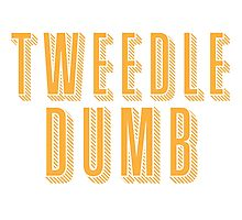 Tweedle DUMB (with a matching Tweedle dee) Photographic Print
