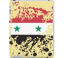Syria Flag Ink Splatter iPad Case/Skin