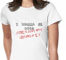 Life Lessons by Jess Mariano Womens Fitted T-Shirt