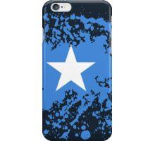 Somalia Flag Ink Splatter iPhone Case/Skin
