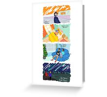 Four Stories Greeting Card