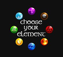 Magicka, choose your element (circle) Unisex T-Shirt