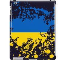 Ukraine Flag Ink Splatter iPad Case/Skin