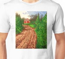 The Red House in Finland Unisex T-Shirt