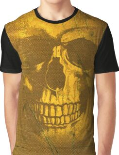 Golden Decay Graphic T-Shirt