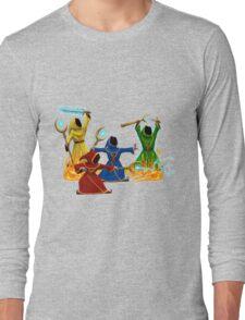 Magicka, team of wizards Long Sleeve T-Shirt