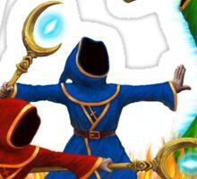Magicka, team of wizards Sticker