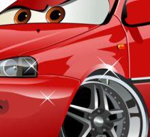 Cartoon Car Sticker