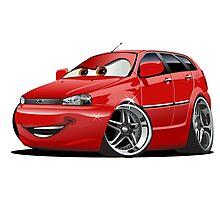 Cartoon Car Photographic Print