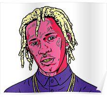 Young thug rap thugger Poster