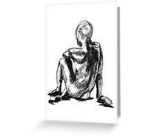 croquis Greeting Card