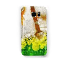 Digitally manipulated Cow with Bell. Samsung Galaxy Case/Skin